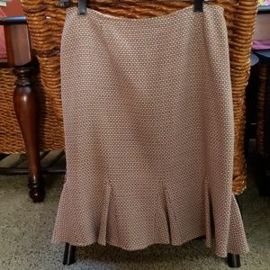 Pink/Brown INC skirt